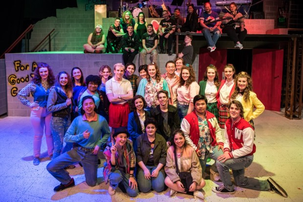 Cast and crew of Heathers the Musical, Bellevue College 2018