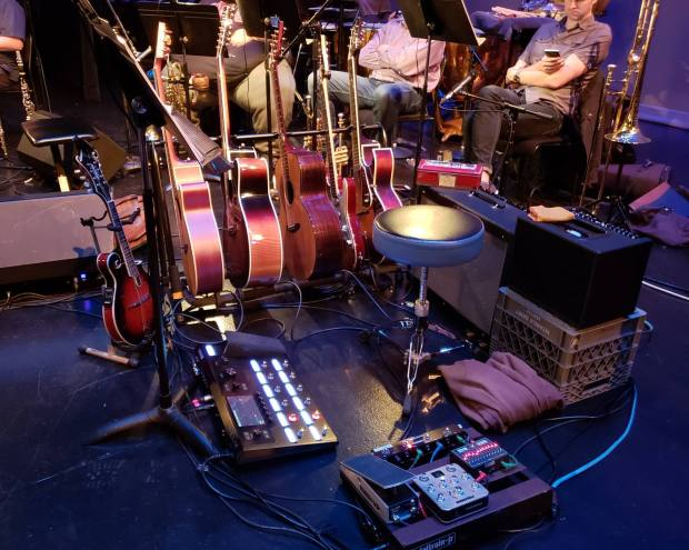 Guitar Rig for Legally Blonde, 2018