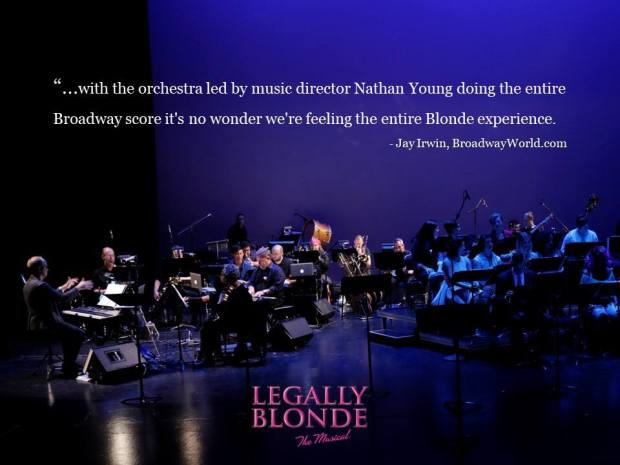 Showtunes Legally Blonde Orchestra