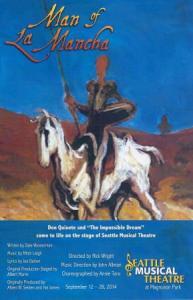 Seattle Musical Theatre - Man Of La Mancha Poster 2014