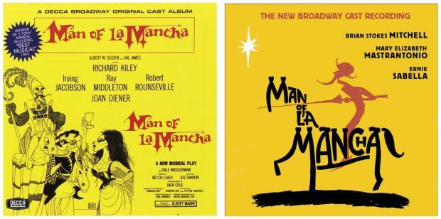 Man of La Mancha Cast Recordings