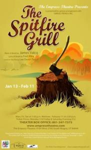 Spitfire Grill Poster - Empress Theatre, UT, 2012