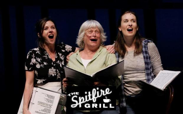 Shelby, Hannah and Percy – The Spitfire Grill. Image courtesy of SHOWTUNES Theatre Company and © Chris Bennion 2019