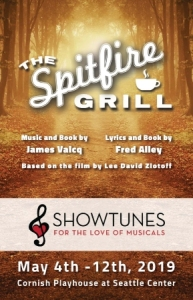Showtunes Theatre Spitfire Grill Poster