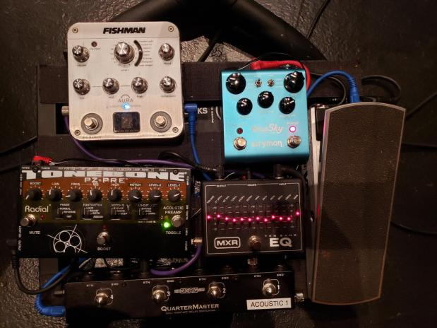 Pedalboard for The Light In The Piazza – September 2019