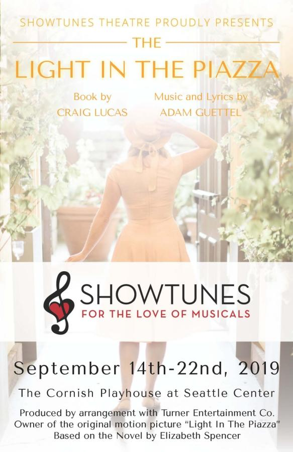 Program Cover for Showtunes Theatre Production, 2019