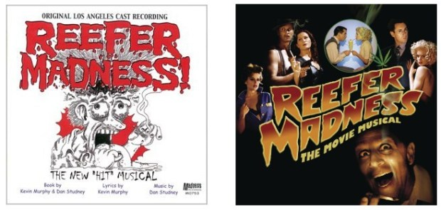 Cover Art of Reefer Madness Cast Recordings