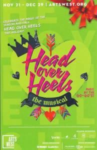 Head Over Heels ArtsWest Poster