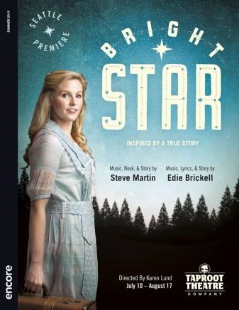 Taproot Theatre Bright Star program cover (2019)