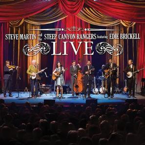 Steve Martin Live album cover (2014)