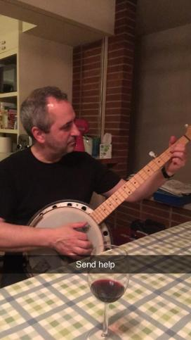 Puzzling over the Bright Star Banjo book…