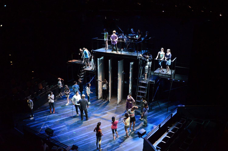 """Rehearsals – """"13"""", Seattle, 2011"""