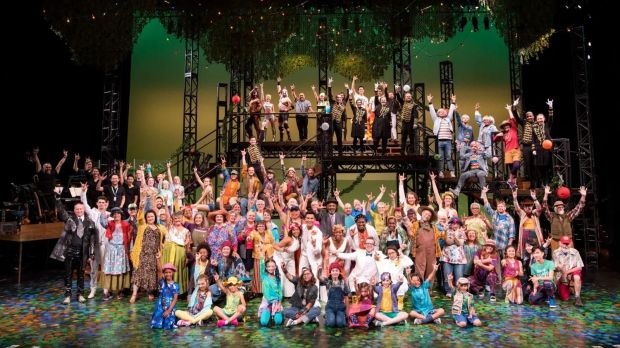 """""""As You Like It"""" – Cast & Band, September 2019"""